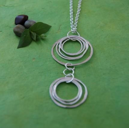 double pendant by Beth Cyr