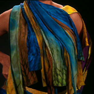 silk wearables by Laverne Zabielski