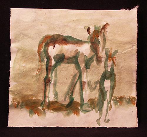 horse sketch 2 -Jamie K McIntosh