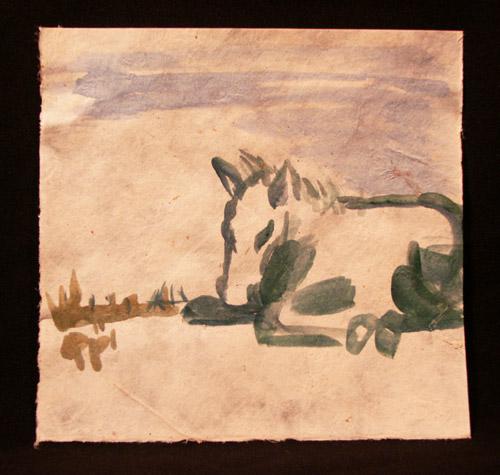 horse sketch 3 -Jamie K McIntosh