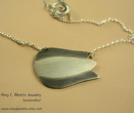 tulip necklace - Amy's Jewelry