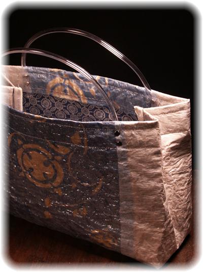 Plastic grocery bags - handbag