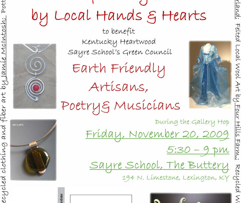 EARTH/worx…will you be at the Gallery Hop?